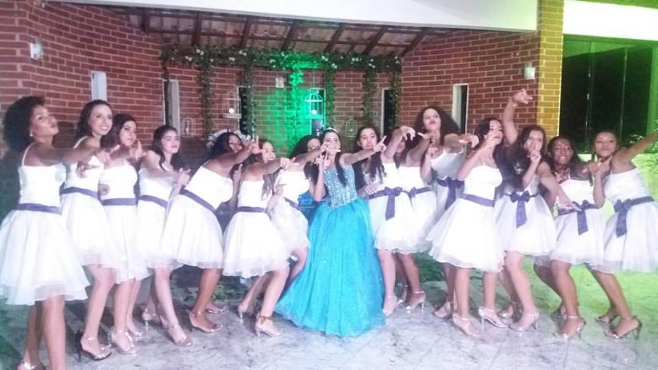 15 anos com 15 casais - debutante festa classica
