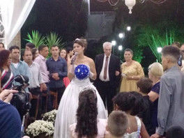 """Casamento Danielle e Adair """" Recanto Beija Flor!"""