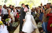Recanto Beija Flor Casamento Suelen e Vinícius