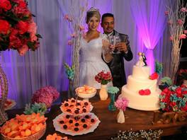 "Casamento Carol &Gilliard ""Recanto Beija Flor"""