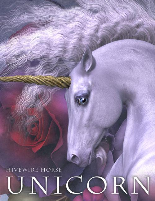 HiveWire Unicorn Portrait