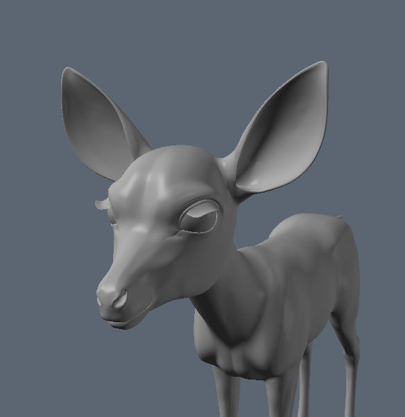 Thistle The Toon Fawn
