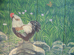 Faverolle Rooster