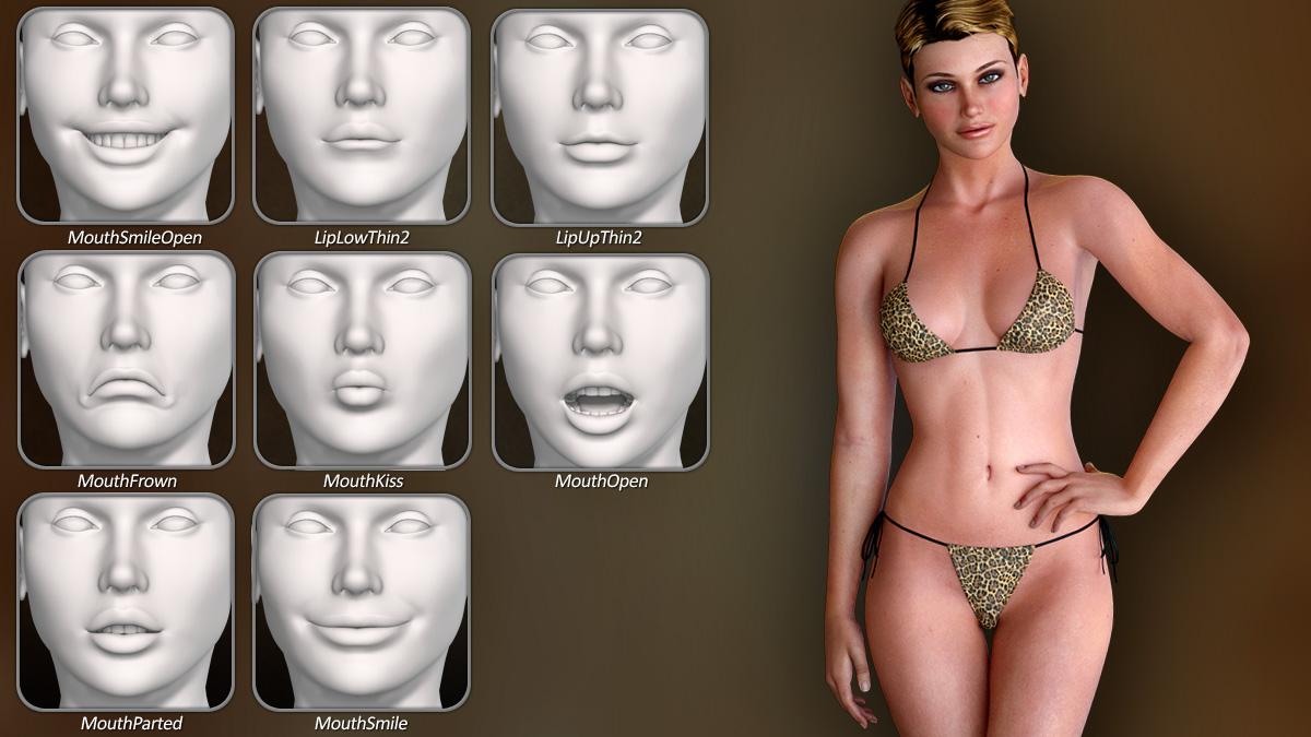 Dawn SE Facial Morphs 2