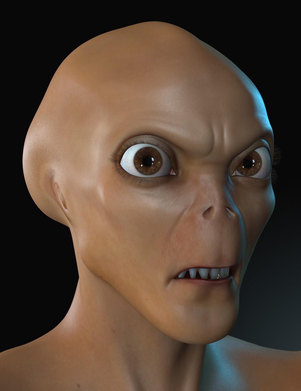 Dusk Creature Head Morphs