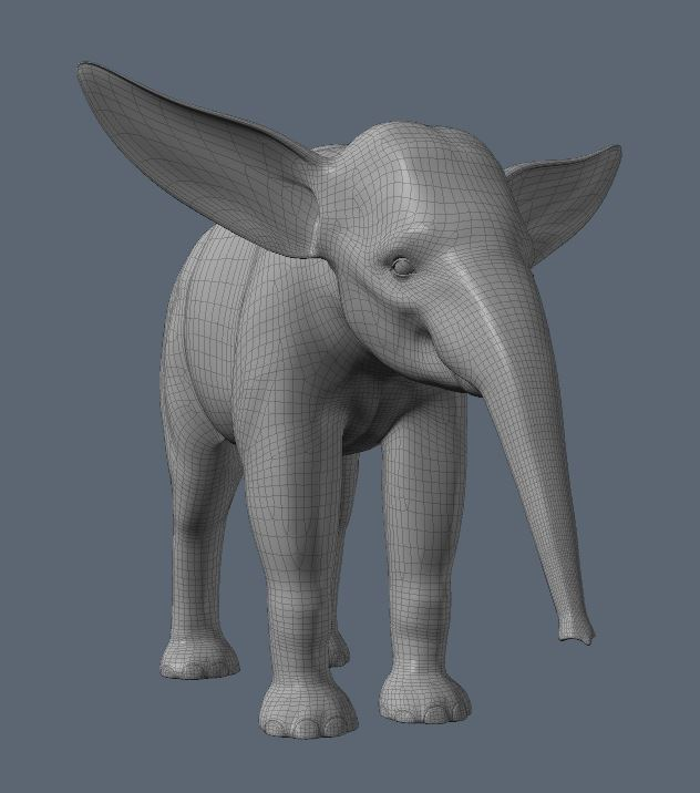 Calf Ear Morph