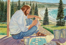 Son Washes Each One