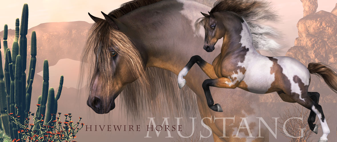 HiveWire Mustang Horse