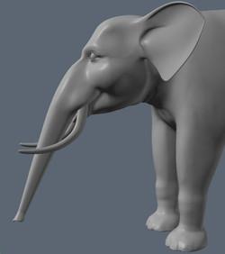 Toon Elephant