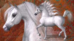HiveWire Arabian Horse
