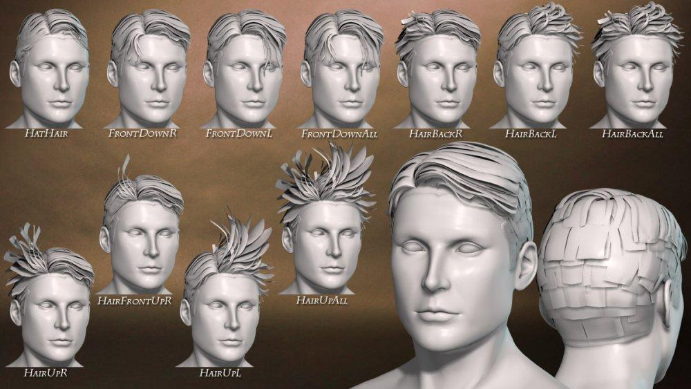 Hero Hair Morphs