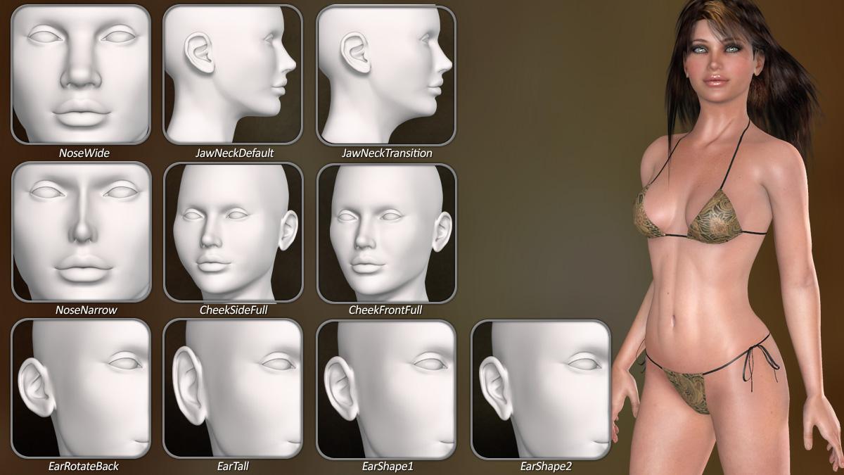 Dawn SE Facial Morphs 3