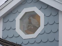 North Cupola Window