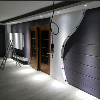 Moderne Wohnzimmerbeleuchtung
