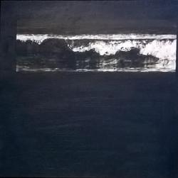 'Silence'    Mixed media on canvas