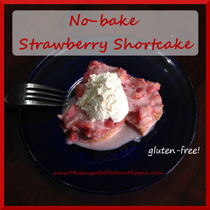 No-bake Strawberry Shortcake (gf) | Musings of a Modern Hippie