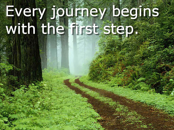 Take the first step | Musings of a Modern Hippie