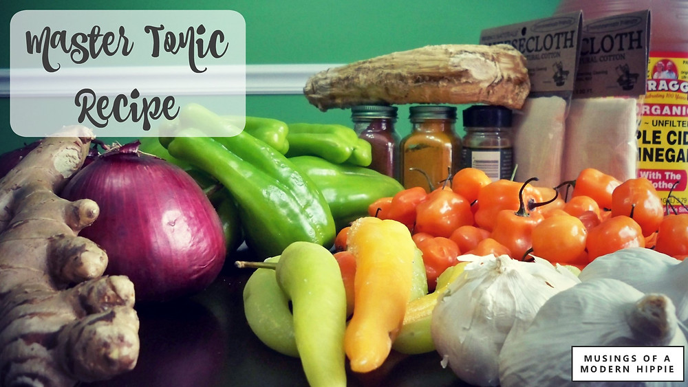 Master Tonic Recipe | Musings of a Modern Hippie