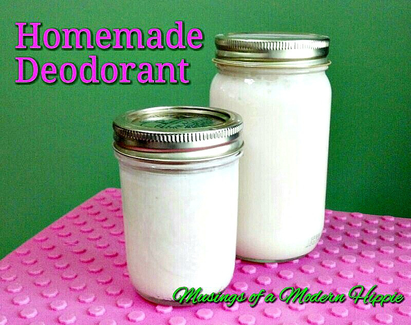 Homemade Natural Deodorant Recipe | Musings of a Modern Hippie