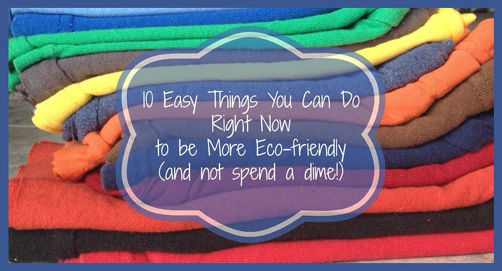 10 Ecofriendly Tips | Musings of a Modern Hippie