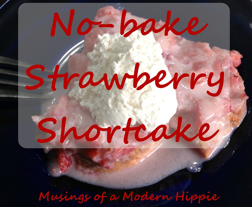 No-bake Strawberry Shortcake | Musings of a Modern Hippie