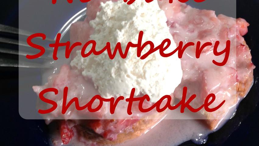 No Bake Strawberry ShortCake Recipe