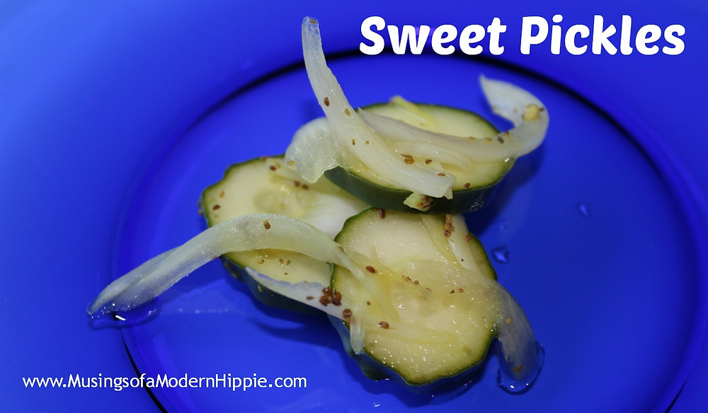 Crunchy Fermented Sweet Pickles | Musings of a Modern Hippie