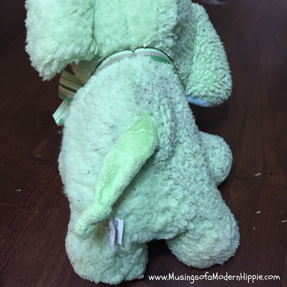 How to Restore a Stuffed Animal (Chemical-free!) | Musings of a Modern Hippie