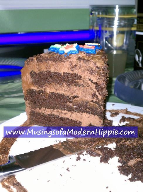 Ultimate Chocolate Cake Recipe |Musings of a Modern Hippie