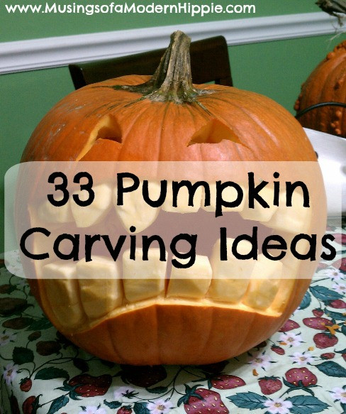 33 Pumpkin Carving Ideas and Recipes | Musings of a Modern Hippie