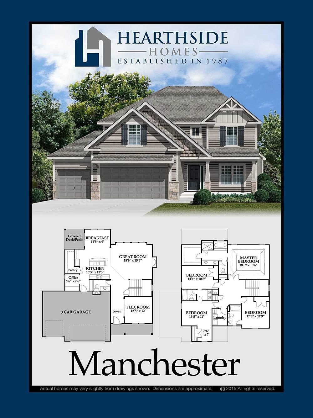 Hearthside homes manchester home plan Home plan com