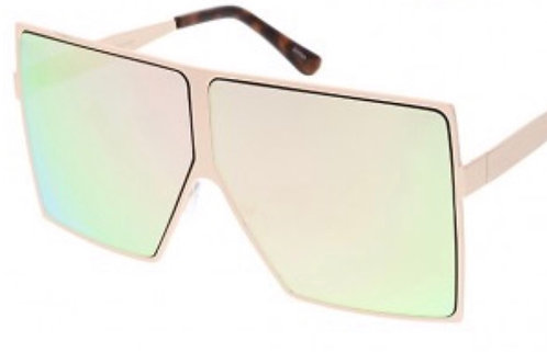 Oversized Square Modern Sunglasses