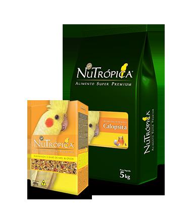 Nutrópica Calopsita Mel e Ovos