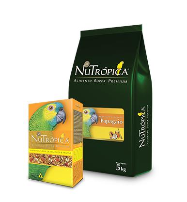 Nutrópica Papagaio Mel e Ovos