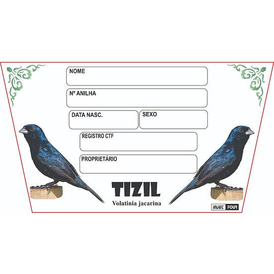 Placa de Identificação para Tizil
