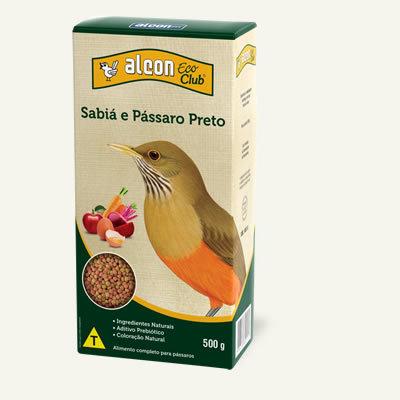Alcon Eco Club Sabiá e Pássaro Preto