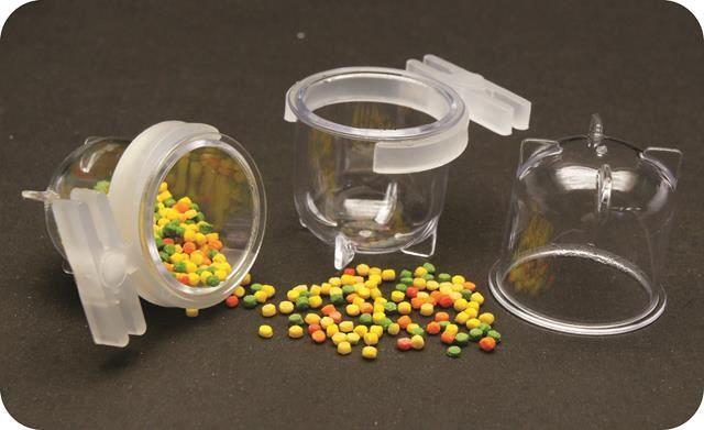 Porta Vitaminas Pequeno Cristal