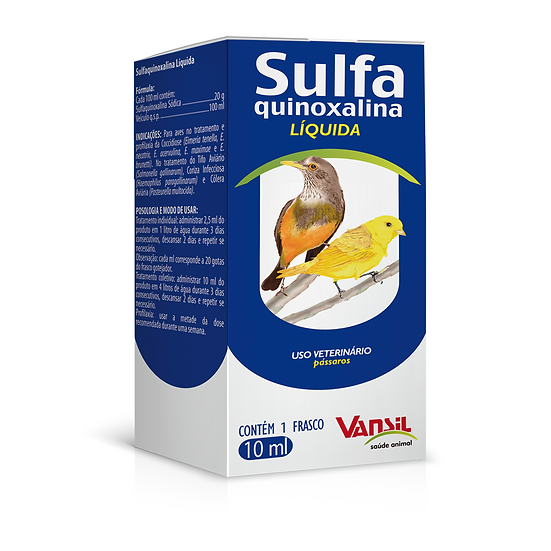 Sulfa quinoxalina (Vansil)