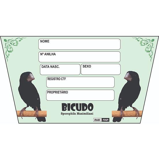 Placa de Identificação para Bicudo