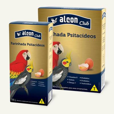 Alcon Club Farinhada Psitacídeos