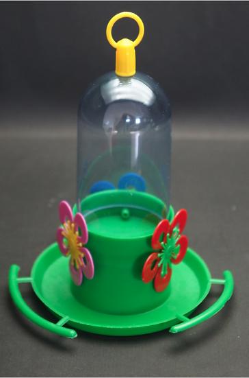 Beija-flor Ecologico Com Poleiro Sem Chapéu