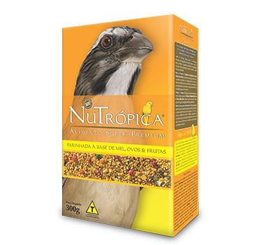 Nutrópica Trinca-Ferro Mel, Ovos e Frutas