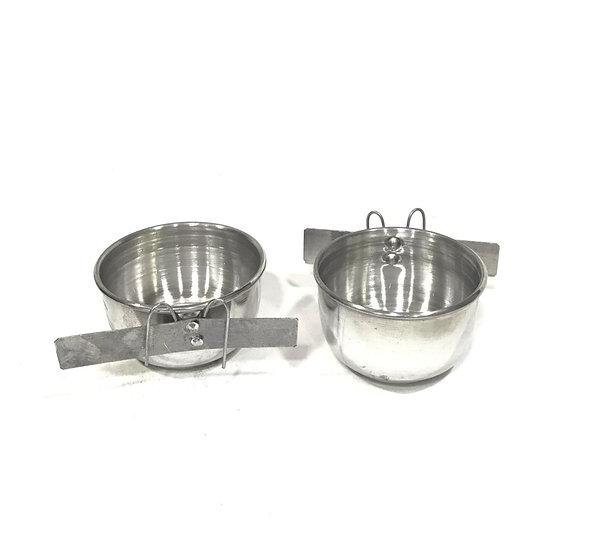 Comedouro de Alumínio N2 com Gancho