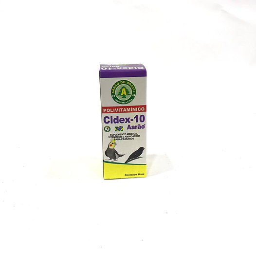 Cidex-10 Polivitamínico - Aarão