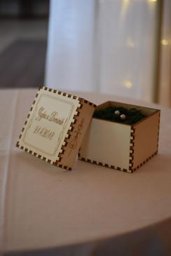 krabička na prstienky