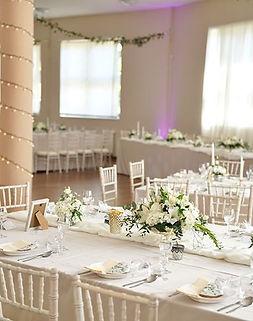Elegantná svadobná výzdoba