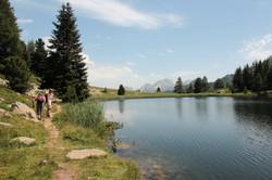 Le lac du Milieu