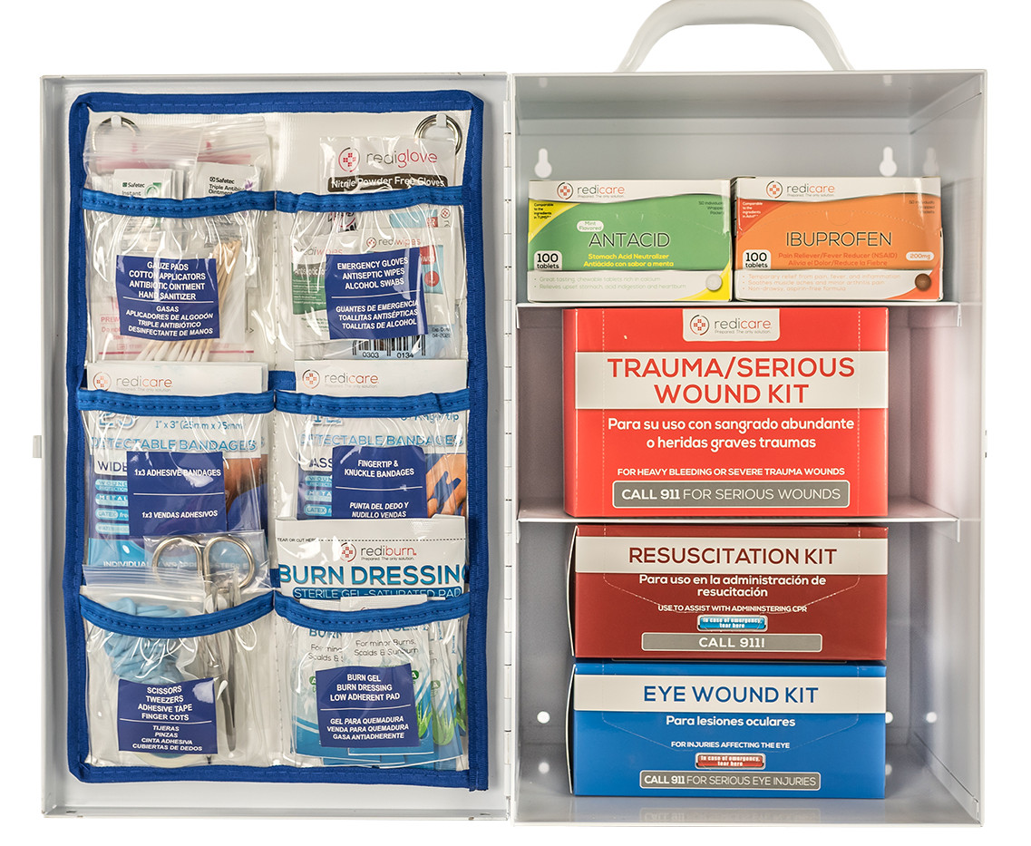 Managed First Aid Class A Cabinets