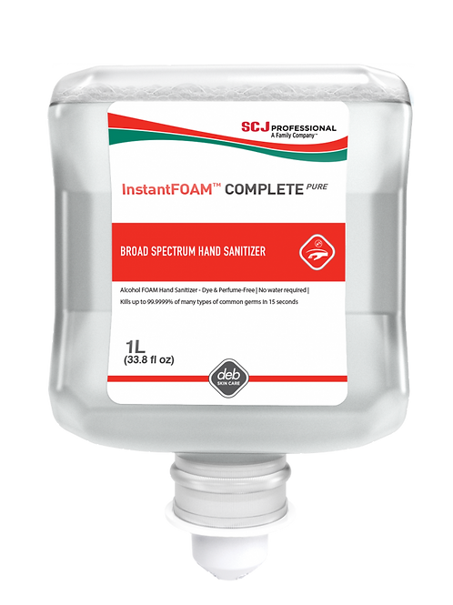 InstantFOAM™ Complete PURE Alcohol Hand Sanitizer 1 Liter Refill