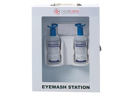 Supplementary Eyewash - Double Bottle Wall Station